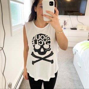 SoulCycle Workout Tank Top Skull
